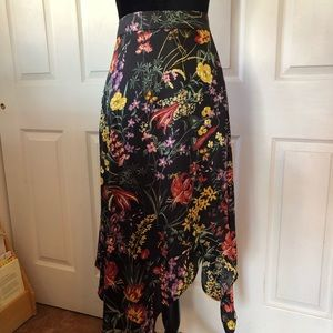 NWT H&M Flower Skirt - Asymmetrical